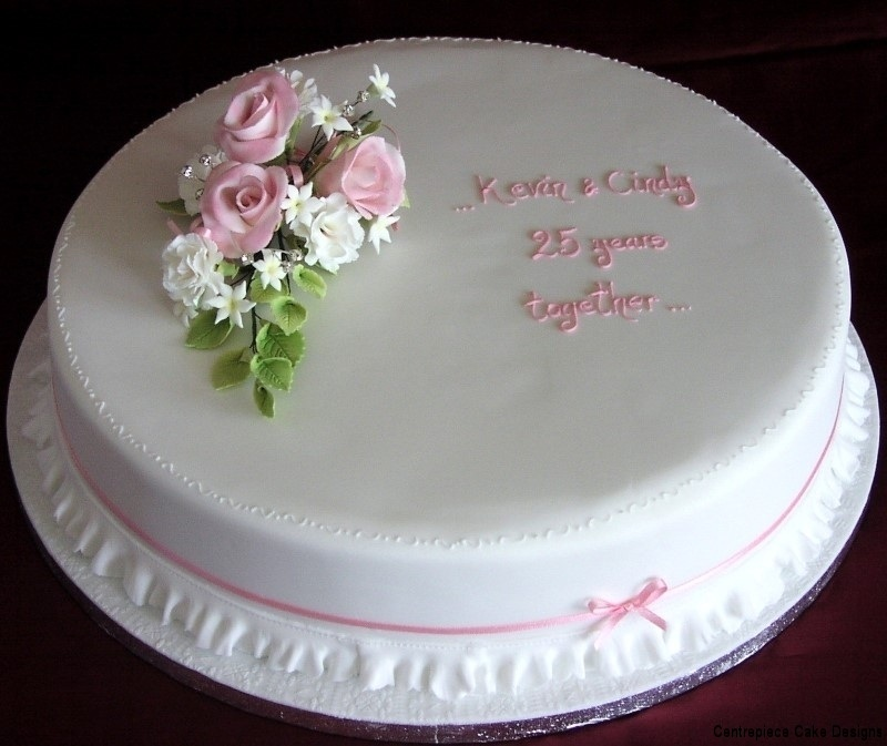 Cake Designs For Anniversary : Anniversary Cakes - Centrepiece Cake Designs Isle of Wight
