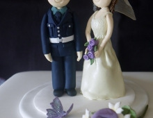 Bride & Groom topper