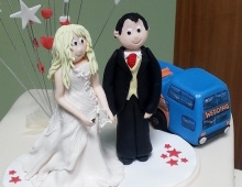 Clay-Bride-Groom-Bus