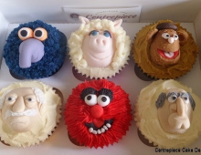 Muppets-cup-cakes