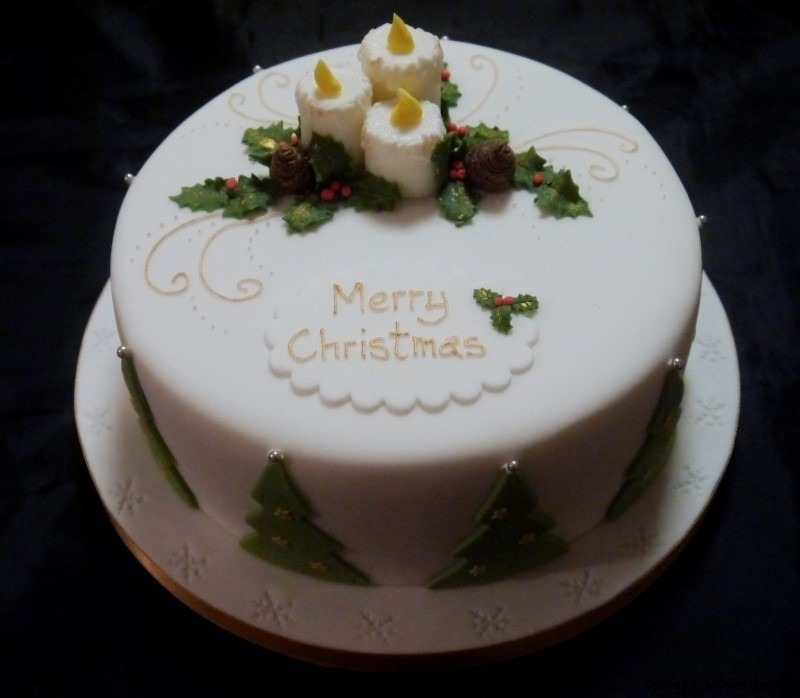 Cake Design In Charlwood : Christmas Cakes - Centrepiece Cake Designs Isle of Wight
