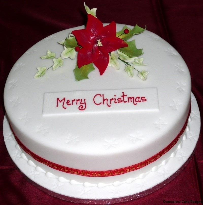 Christmas Cake Design Pictures : Christmas Cakes - Centrepiece Cake Designs Isle of Wight