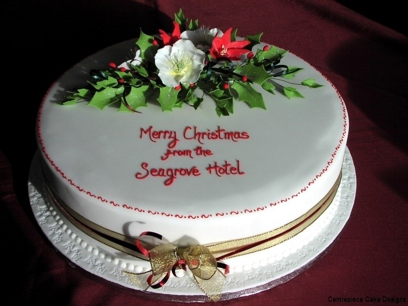 Christmas Cake Design 2018 : Christmas Cakes - Centrepiece Cake Designs Isle of Wight