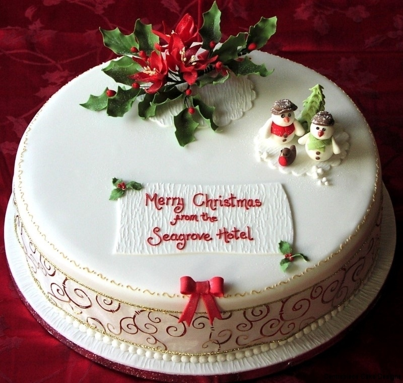 Christmas Cake Design Images : Christmas Cakes - Centrepiece Cake Designs Isle of Wight