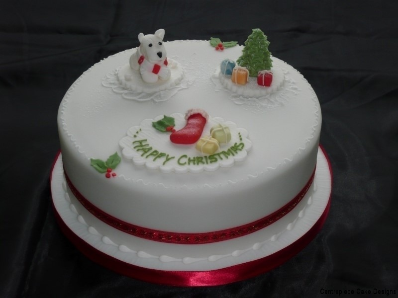 Christmas Cakes Centrepiece Cake Designs Isle Of Wight