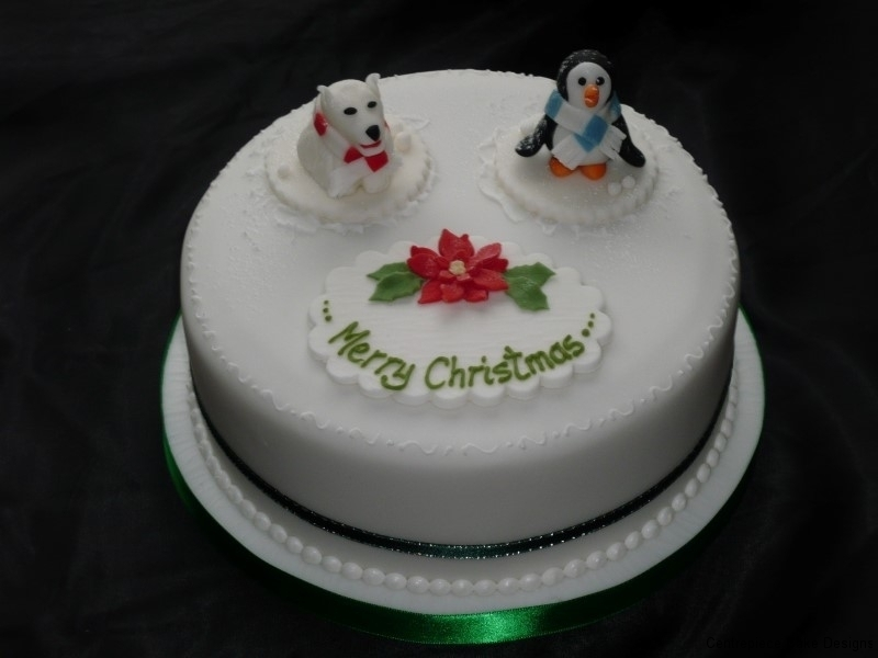 Christmas Cakes - Centrepiece Cake Designs Isle of Wight