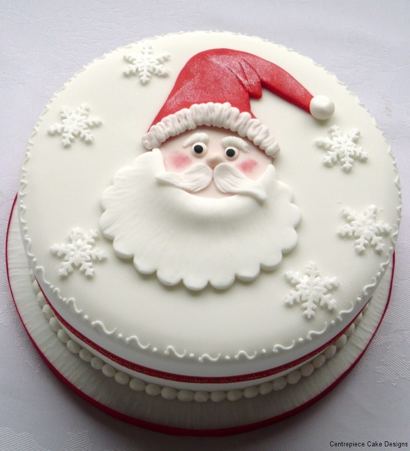 Christmas Cakes - From £55.00 - Centrepiece Cake Designs ...