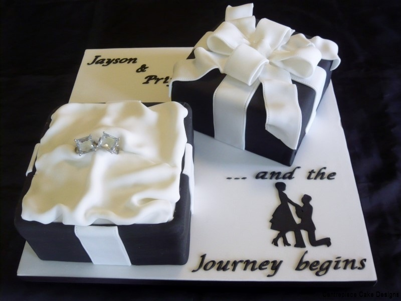 Decorating Ideas > Engagement Cakes  Centrepiece Cake Designs Isle Of Wight ~ 001710_Cake Design Ideas For Engagement