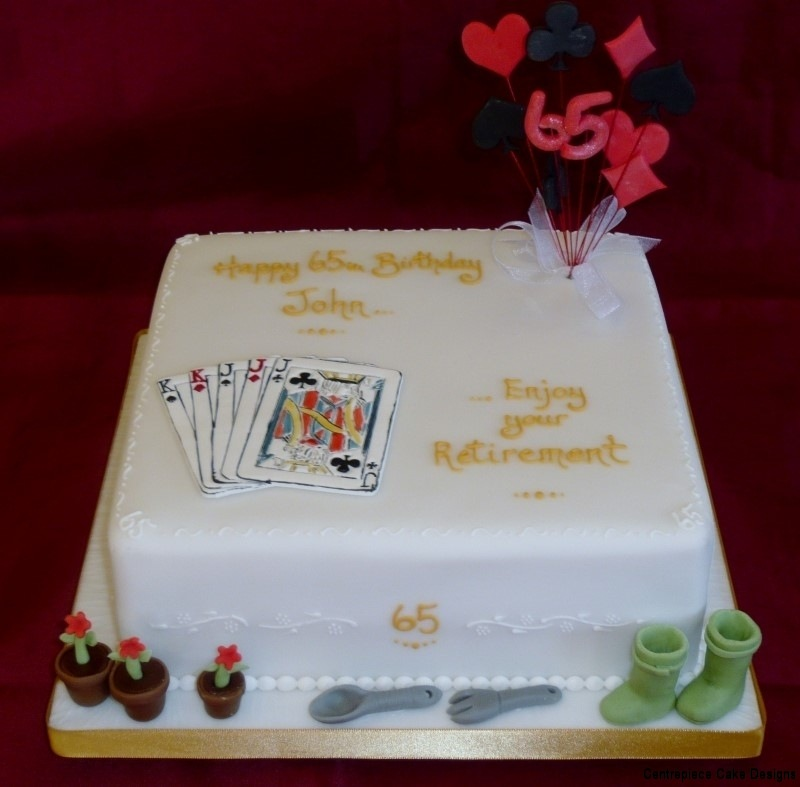 Retirement Cakes - Centrepiece Cake Designs Isle of Wight
