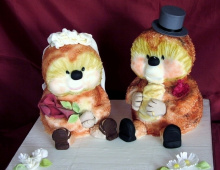 hedgehogs-bride-groom