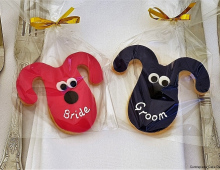 Gromit-shortbread