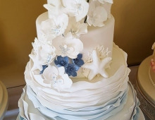 4-tier-floral-sea-theme