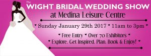 Wight Bridal show 29th January 2017