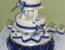 ind +royal blue vintage