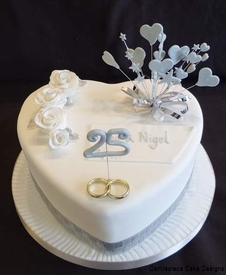 Anniversary Cakes From 60 00 Centrepiece Cake Designs Isle Of Wight