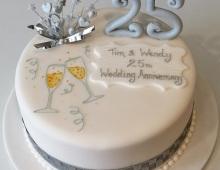 Anniversary-25-wedding-silver-stars