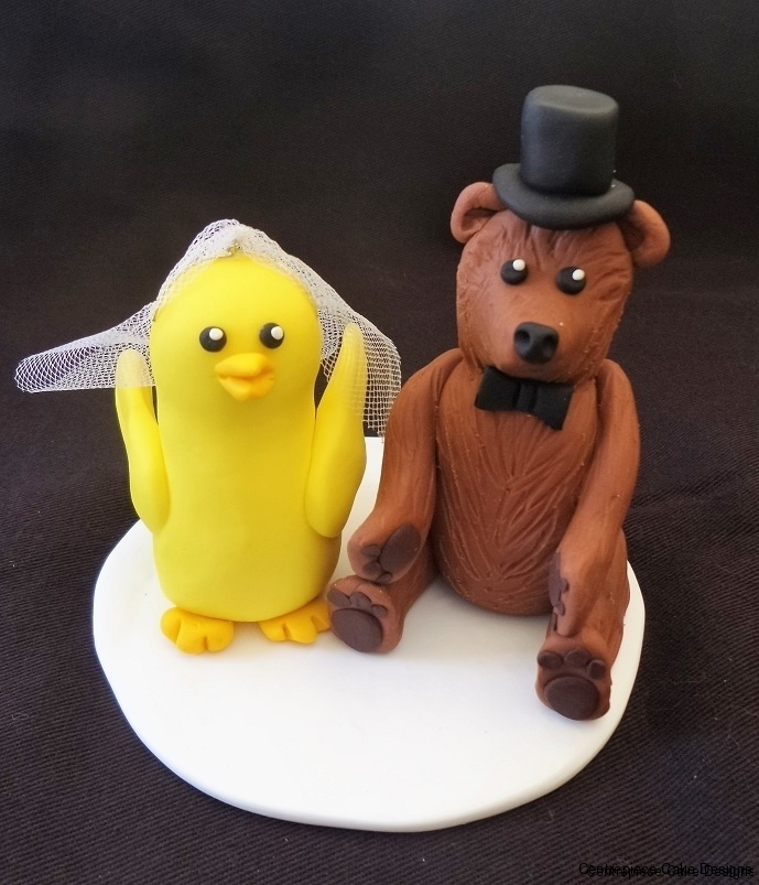 Wedding - Cake Toppers - POA. - Centrepiece Cake Designs Isle of Wight