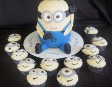 minion-cupcakes