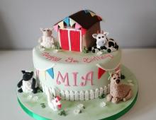 Animal-cake-child