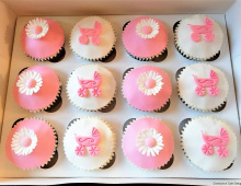 Christening-cupcakes