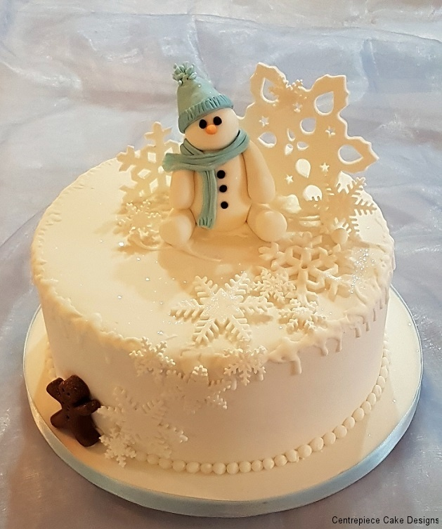 Christmas Cakes - From £55.00 - Centrepiece Cake Designs Isle of Wight