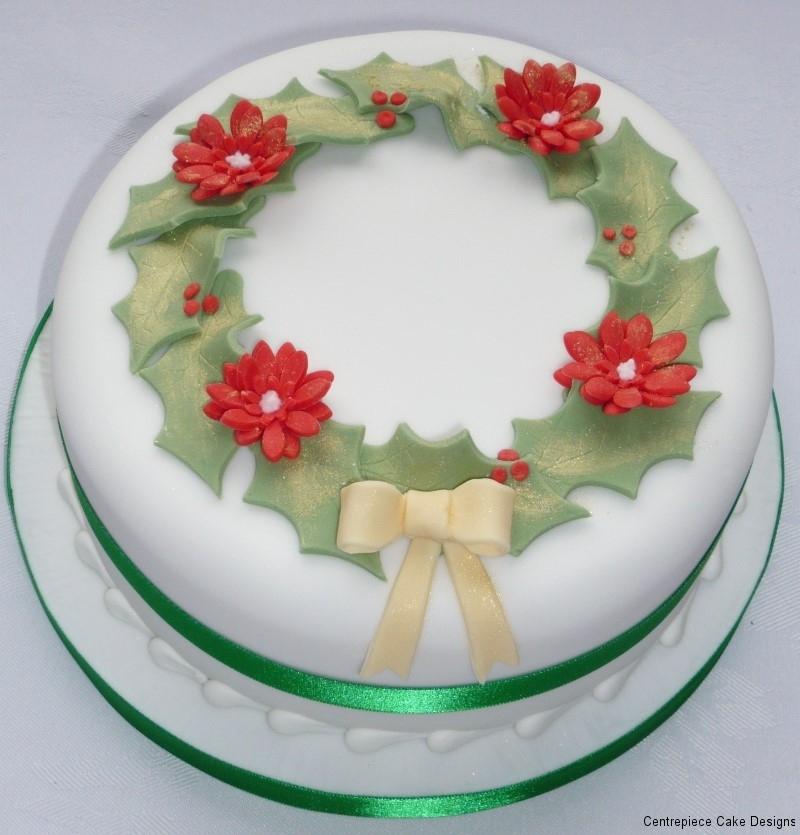 Amazing Christmas Cake Designs