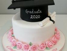 Graduation-cake-two-tier-hat