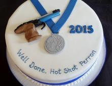 Celebration-shotting-medal
