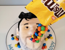 Novelty-face-mms-cake
