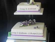 Wedding cake - clay topper