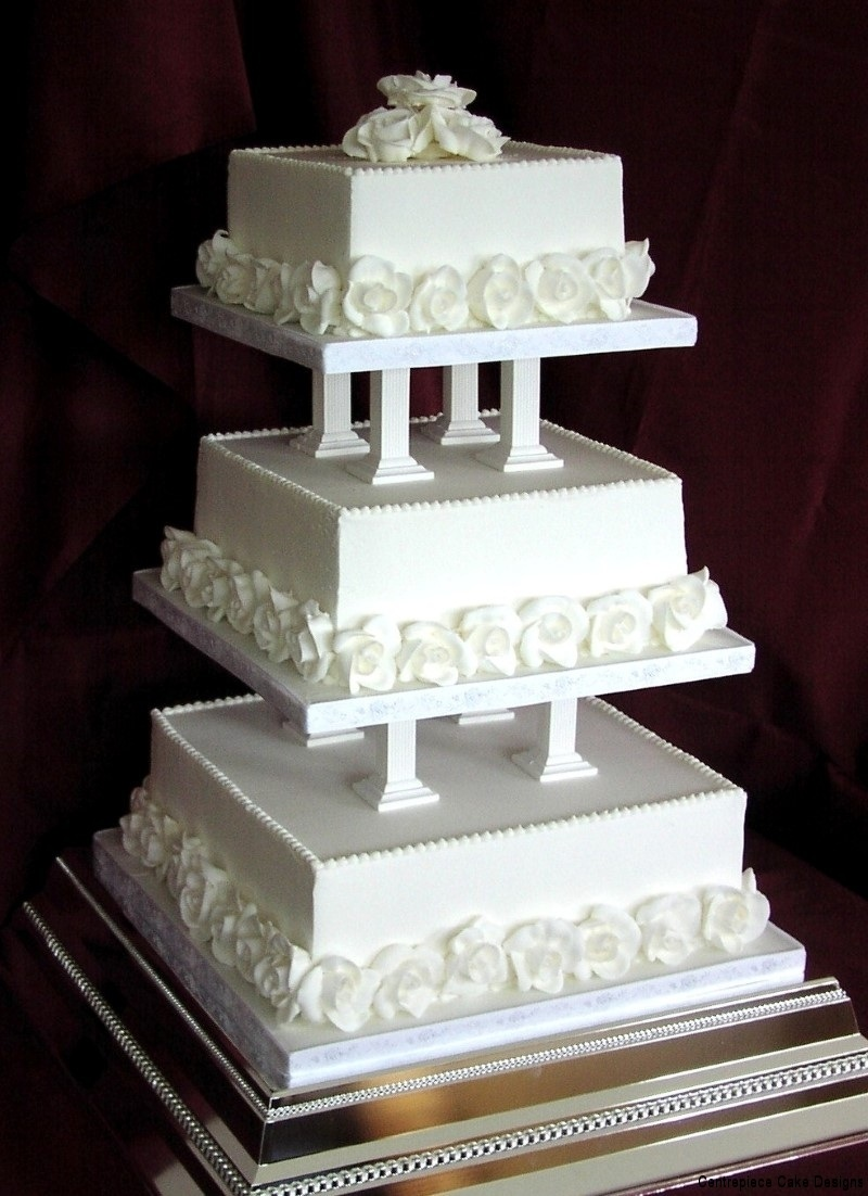 square wedding cake designs uk classic style wedding cakes wedding cake maker iow 20385