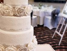 Five-tier-wedding